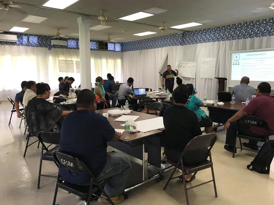 Federated States of Micronesia builds expertise in climate change and disaster management